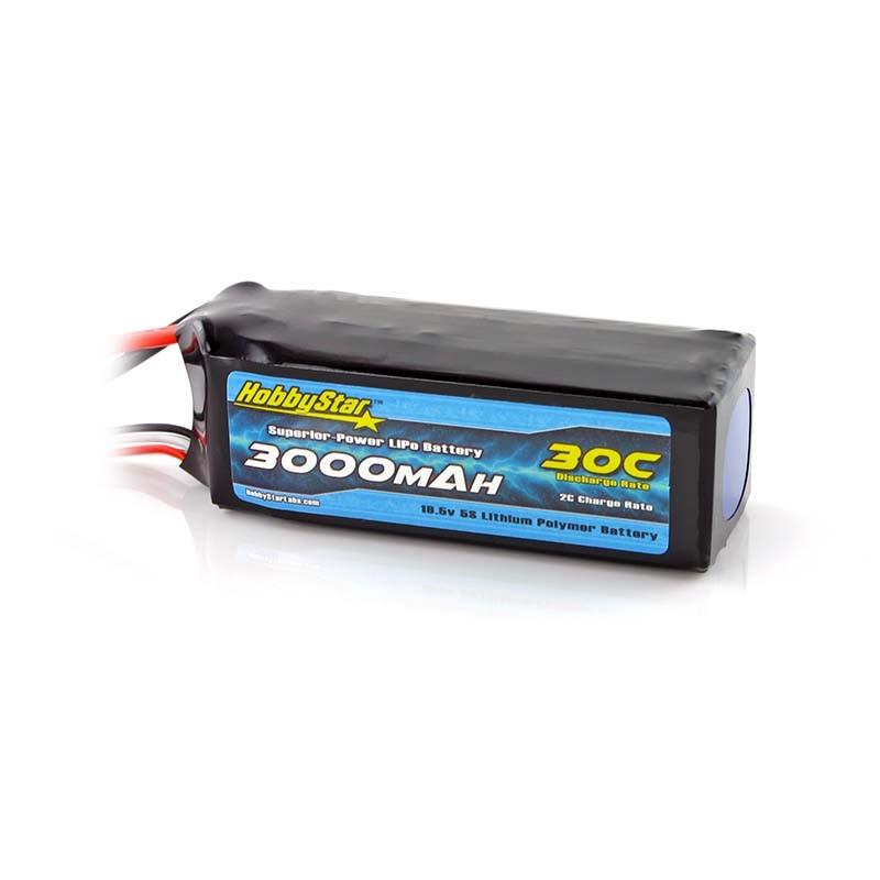 3000mAh 18.5V, 5S 30C