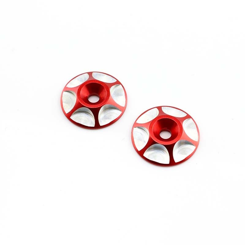 Wing Buttons, Red