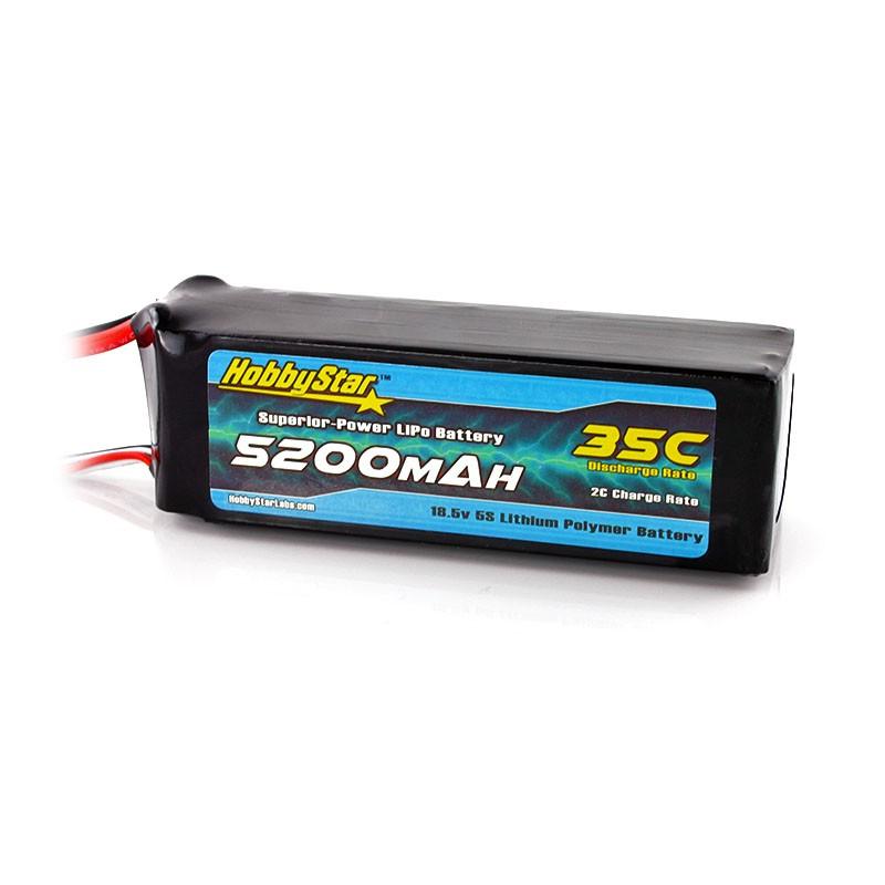 5200mAh 18.5V, 5S 35C