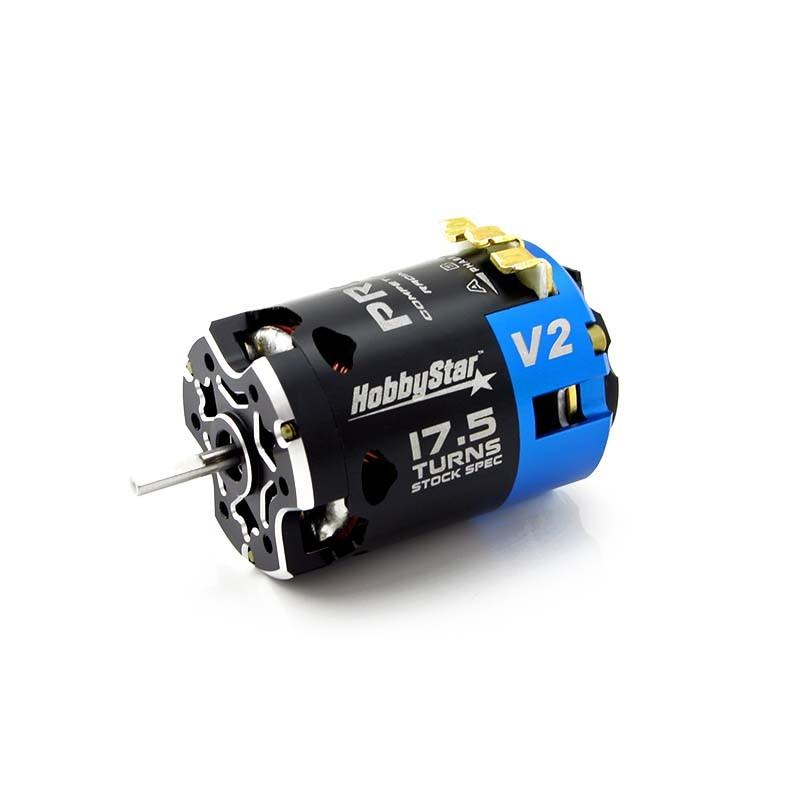 HobbyStar 540 Pro V2, Competition Brushless Sensored Motor