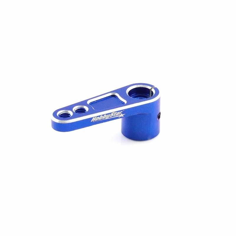 25T Servo Horn, Offset, Blue
