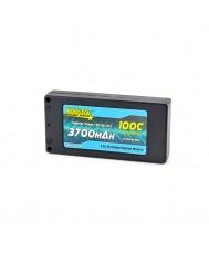 "3000mAh 7.4V, 2S 90C Hardcase ""Shorty-Lite"""