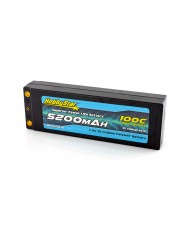 5200mAh 7.4V, 2S 100C Hardcase, Low IR