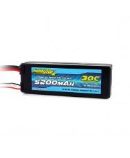 5200mAh 11.1V, 3S 30C Hardcase
