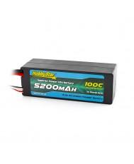 5200mAh 14.8V, 4S 100C Hardcase, Low IR