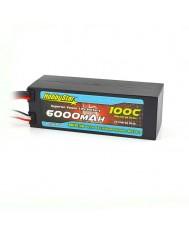 6000mAh 15.2V, 4S HV 100C  Hardcase