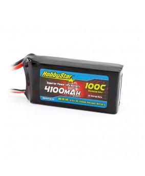 4100mAh 11.4V, 3S HV 100C