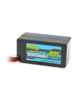 5000mAh 14.8V, 4S 100C Hardcase