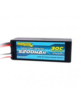 5200mAh 14.8V, 4S 30C Hardcase