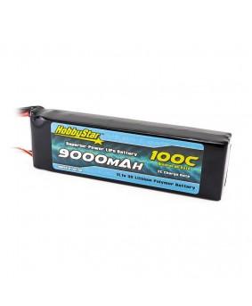 9000mAh 11.1V, 3S 100C